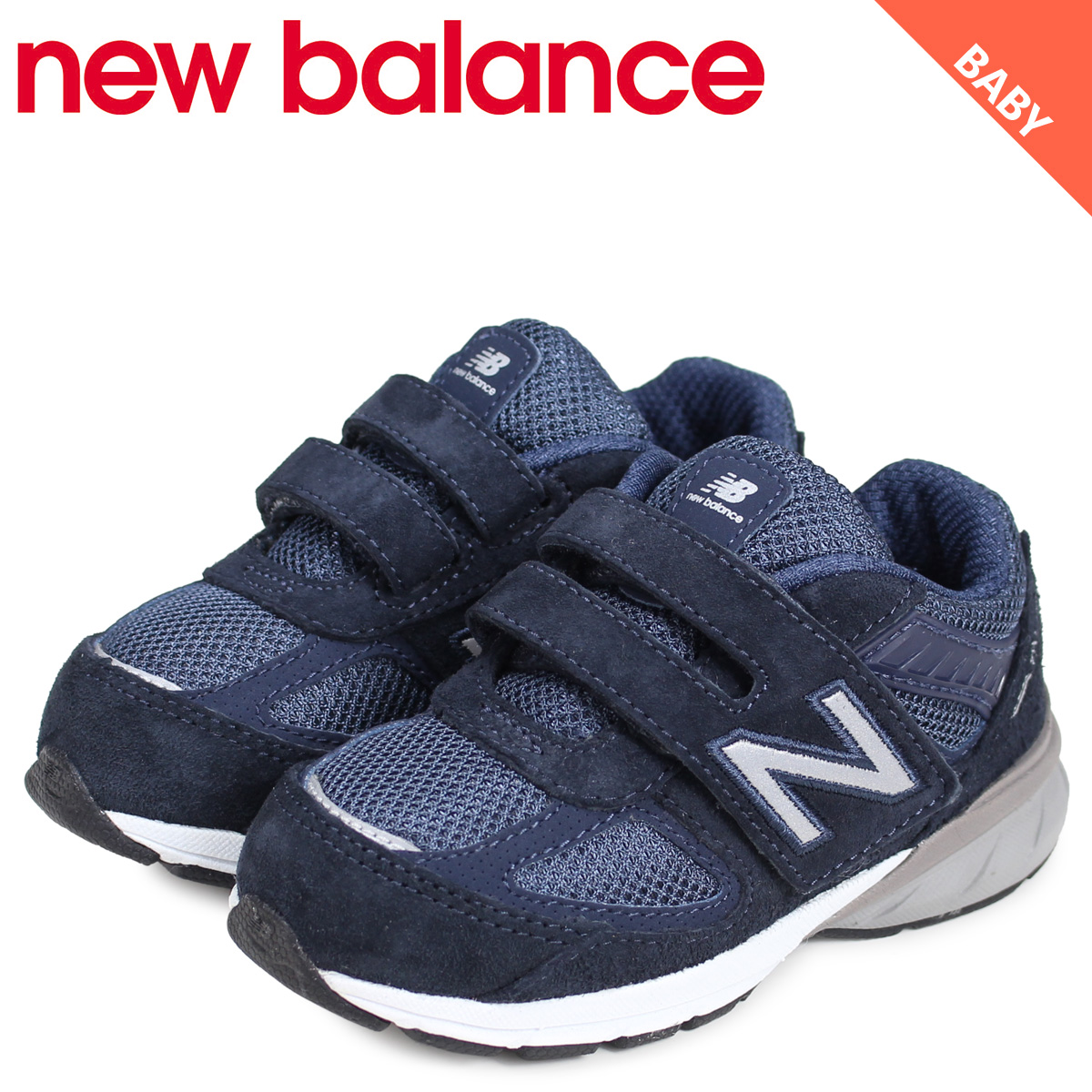 separation shoes 868d1 be6e3 new balance New Balance 990 sneakers baby kids navy IV990NV5