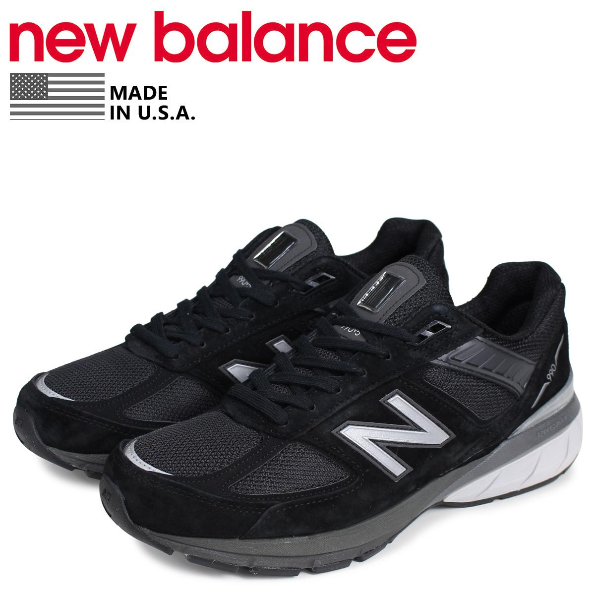 new balance ニューバランス 990 スニーカー メンズ Dワイズ MADE IN USA ブラック 黒 M990BK5