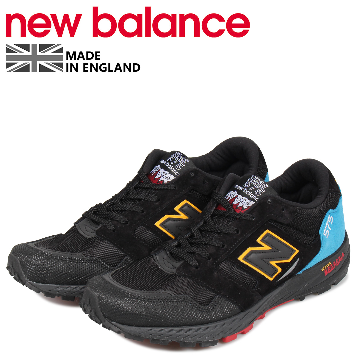 cheaper 0ac4d a1eb7 new balance New Balance 575 sneakers men D Wise MADE IN UK black black  MTL575UT [load planned Shinnyu load in reservation product 8/16 containing]