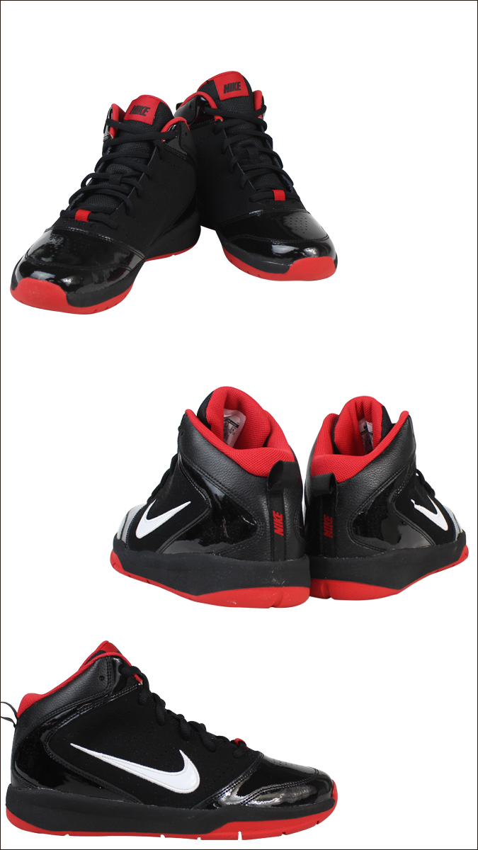 [SOLD OUT]耐克NIKE运动鞋女士TEAM HUSTLE D 5 GS 454461-002鞋黑色