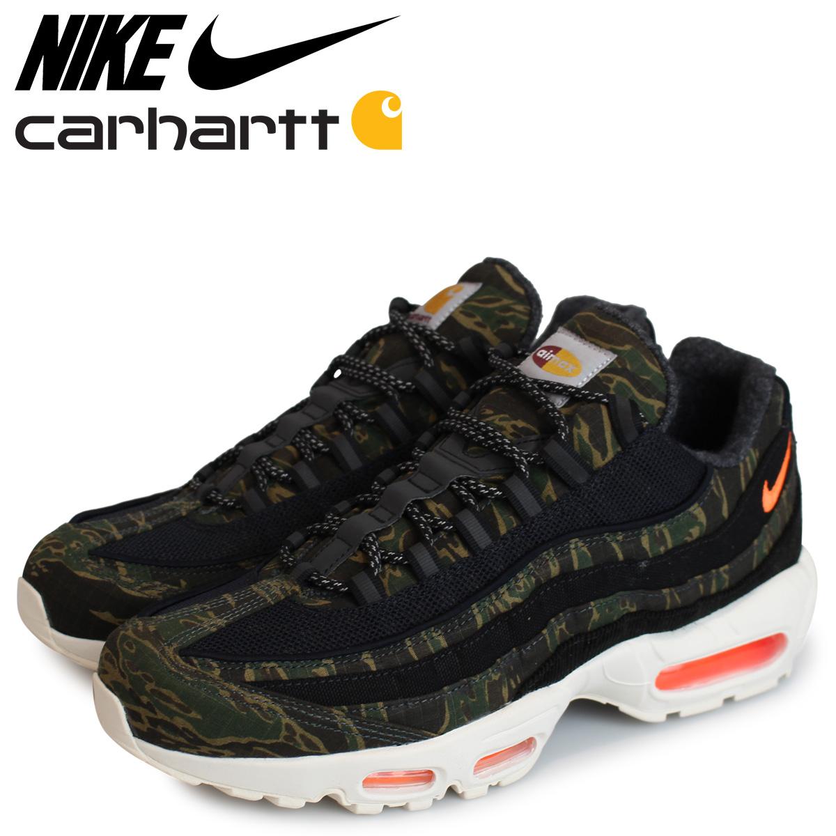 Straight to feet Carhartt WIP x Nike AM95 : Sneakers