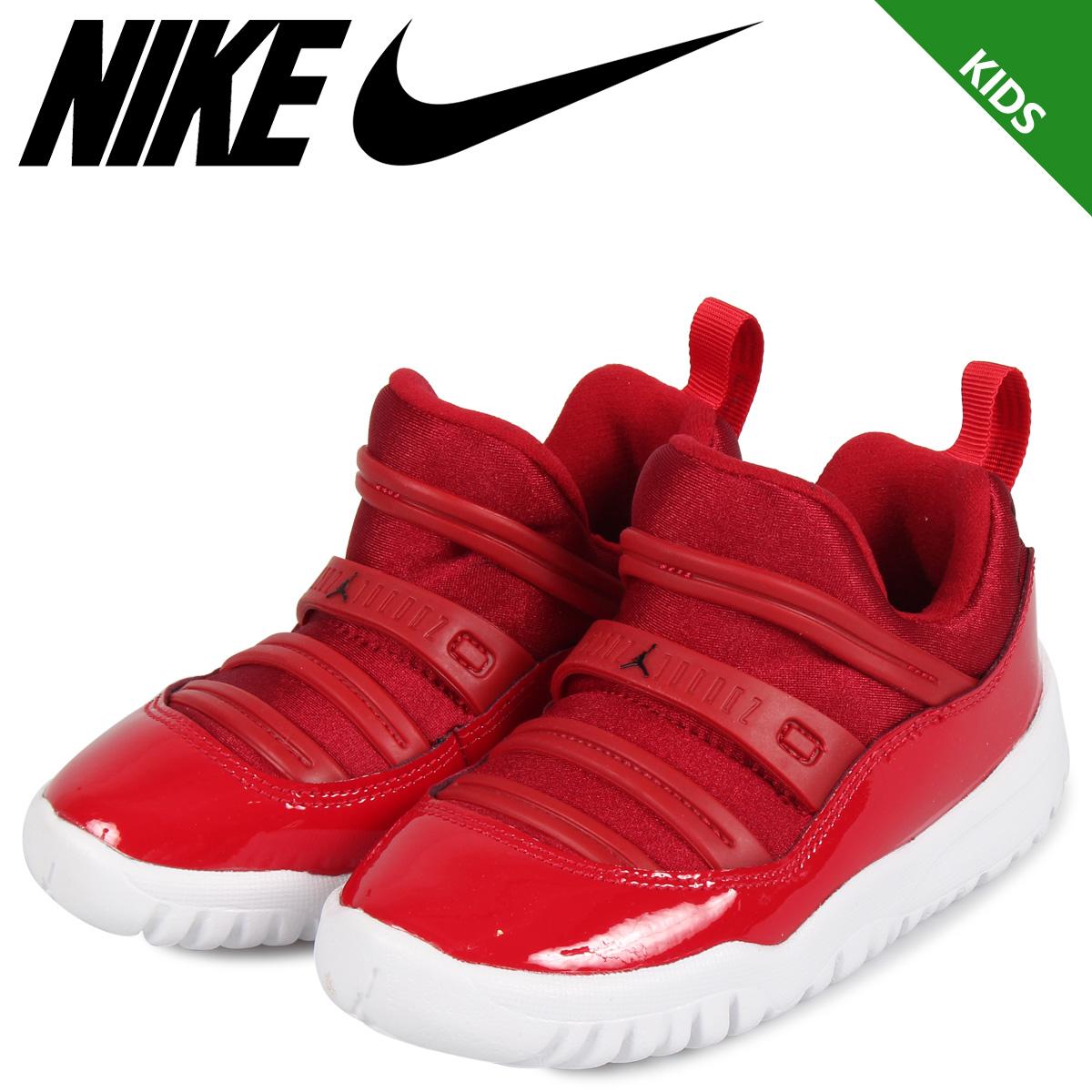b3ec4c0f13 NIKE Nike Air Jordan 11 nostalgic sneakers slip-ons kids AIR JORDAN 11  RETRO LITTLE FLEX PS red BQ7101-623 [7/26 Shinnyu load]