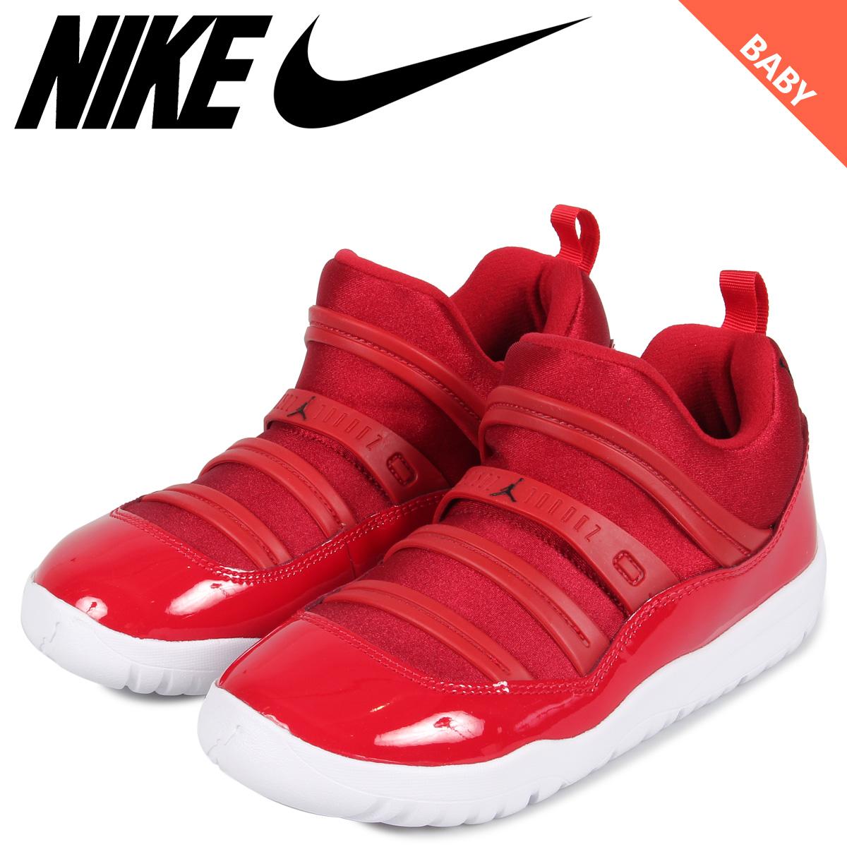 quality design 8449c 52c39 NIKE Nike Air Jordan 11 nostalgic sneakers slip-ons baby kids AIR JORDAN 11  RETRO LITTLE FLEX TD red BQ7102-623