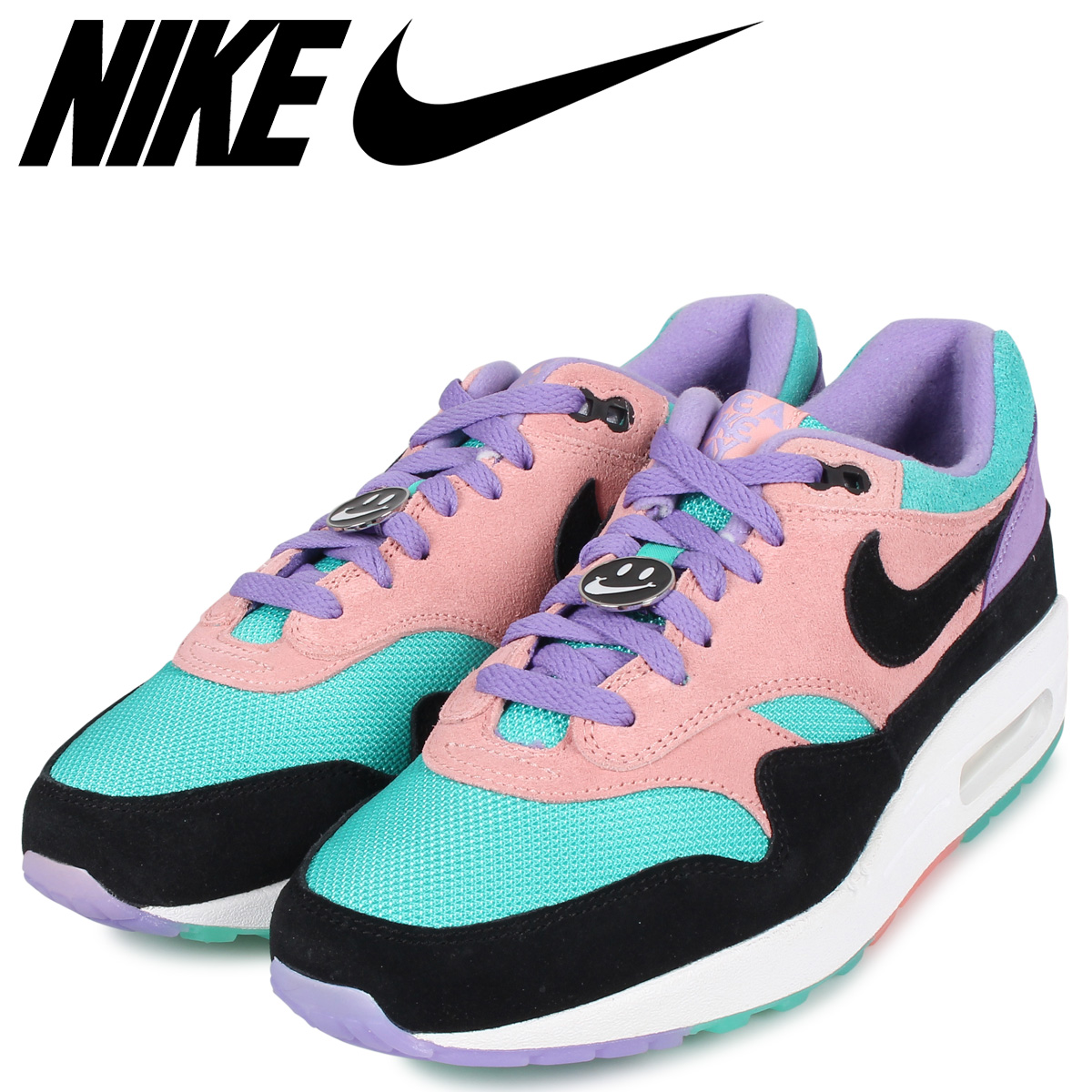 NIKE Kie Ney AMAX 1 sneakers men AIR MAX 1 ND HAVE A NICE DAY purple BQ8929 500