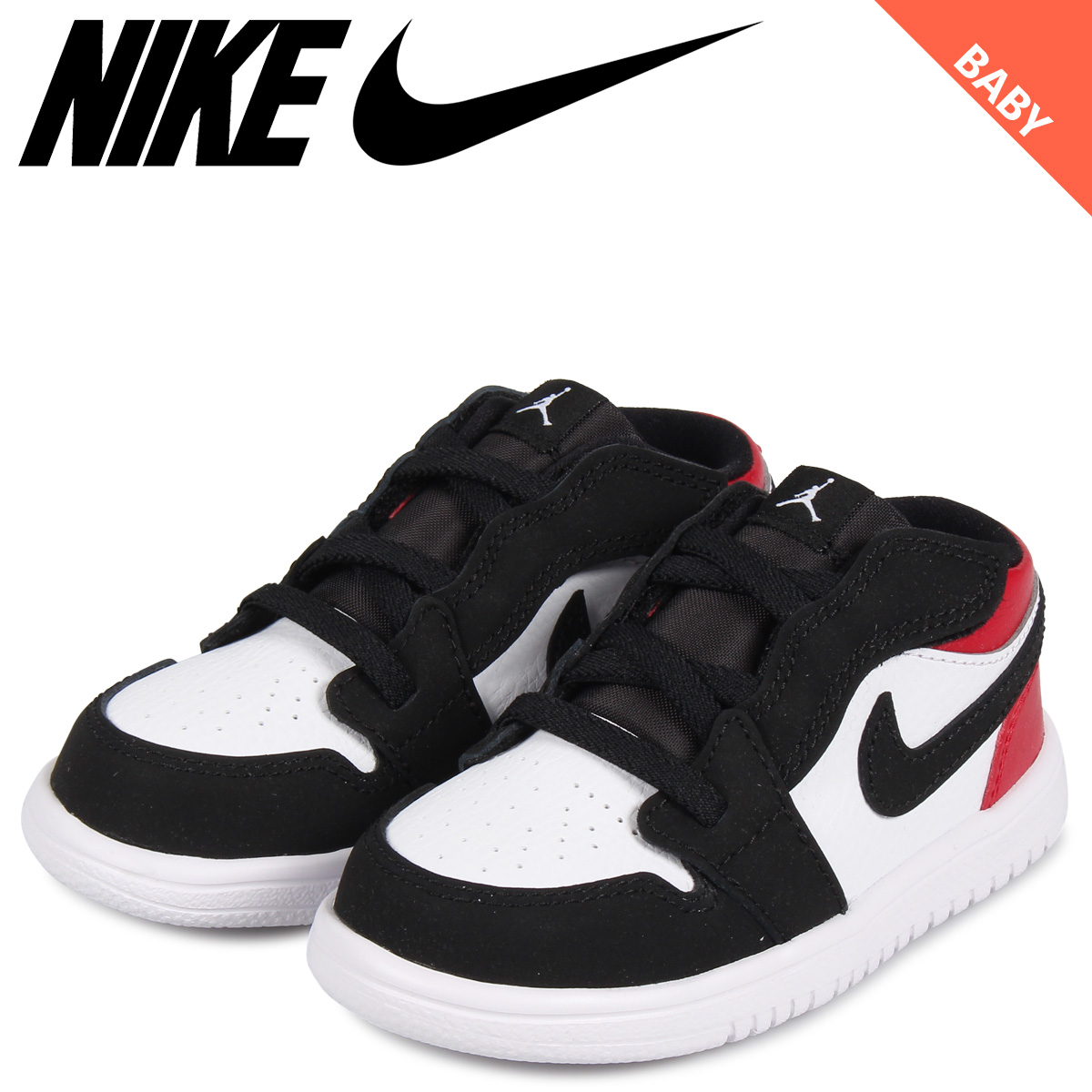 available meet many styles NIKE Nike Air Jordan 1 sneakers baby kids AIR JORDAN 1 LOW ALT TD white  white CI3436-116
