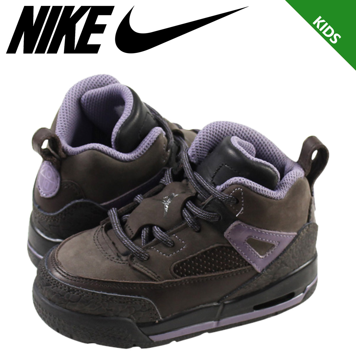 sale retailer 067ef bc210 NIKE Nike Air Jordan sneakers baby kids AIR JORDAN WINTERIZED SPIZIKE TD  Air Jordan spy Zeke 414,841-201 shoes brown