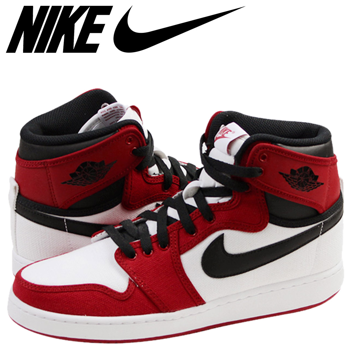 b72abb1b4a2 NIKE Nike Air Jordan sneakers AIR JORDAN 1 RETRO KO HIGH CHICAGO Air Jordan  1 nostalgic