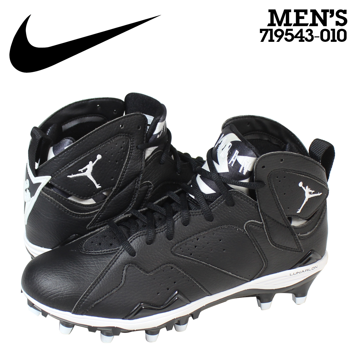 3243713e6a5cab ... Metal  Black Baseball Cleat Men s Us Nike NIKE Air Jordan spike soccer  football shoes JORDAN RETRO 7 TD Air Jordan retro 719543 ...