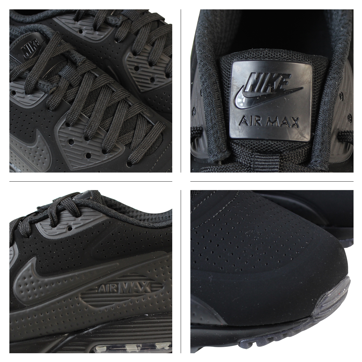 NIKE Kie Ney AMAX sneakers AIR MAX 90 ULTRA MOIRE Air Max 90 ultra moire 819,477 010 men's shoes black black