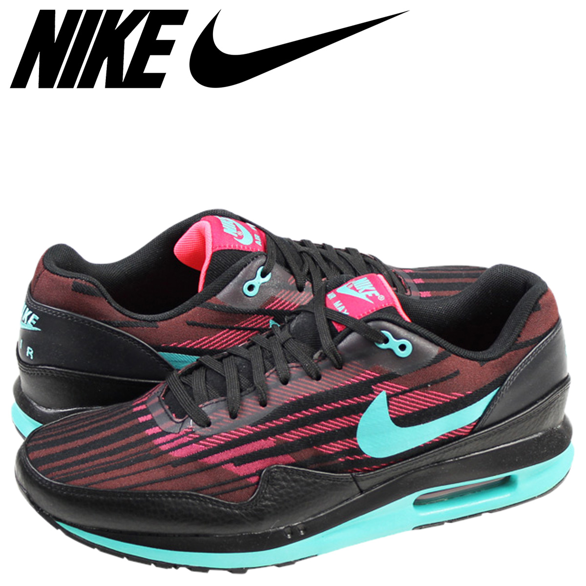 hot sales sale uk new lower prices NIKE Kie Ney AMAX sneakers AIR MAX LUNAR 1 JCRD Air Max luna 1 jacquard  654,467-600 men's shoes black black red