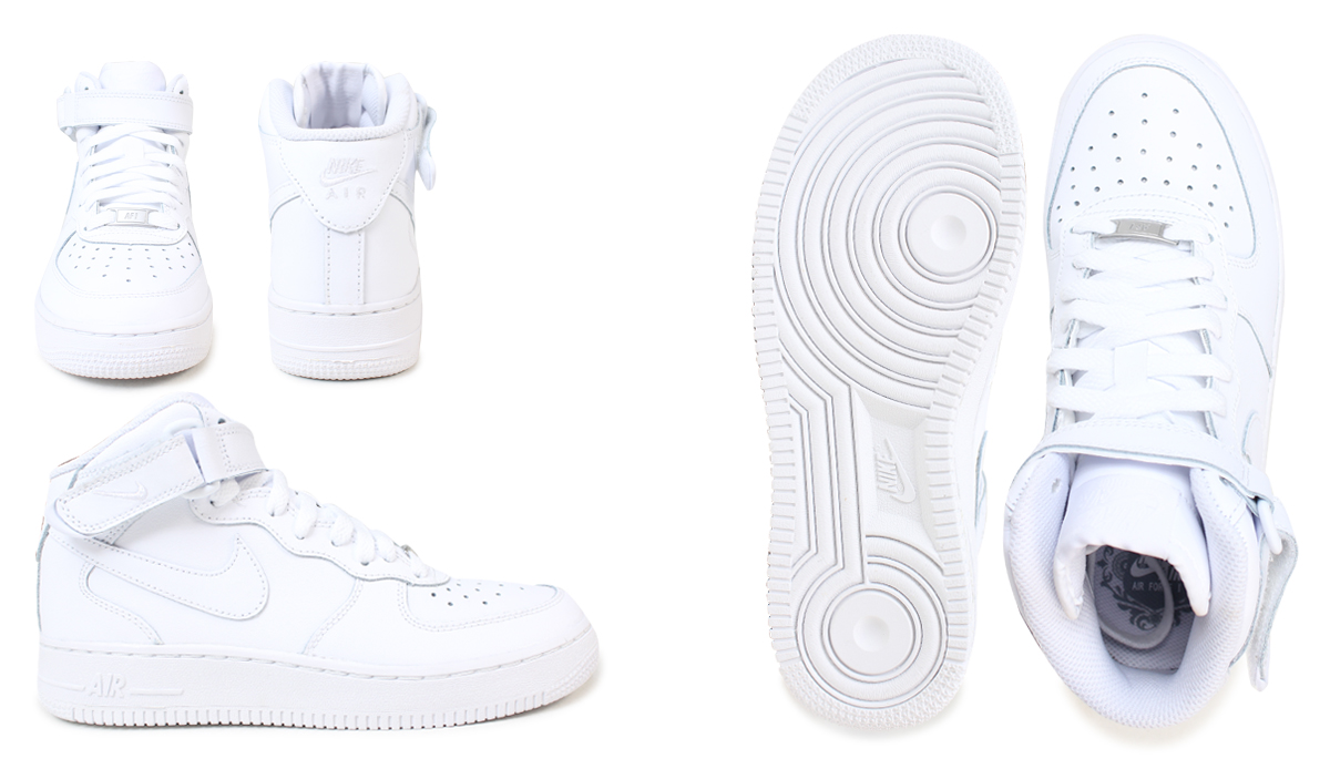 innovative design 46640 5a7b2 Nike kids NIKE AIR FORCE 1 MID GIRLS 314195-113 women u0027s sneakers air