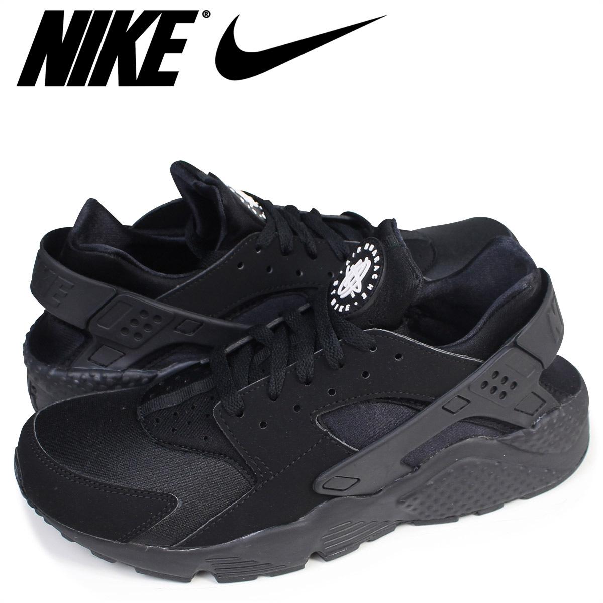 half off 73647 dc456 Nike NIKE エアハラチスニーカー AIR HUARACHE 318,429-003 men s shoes black  7 8  Shinnyu load