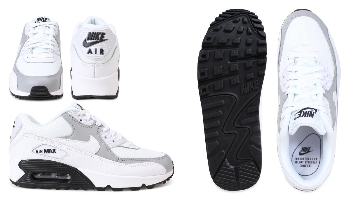 耐克NIKE空气最大90女子的运动鞋WMNS AIR MAX 90 325213-126白[3/6新进货]