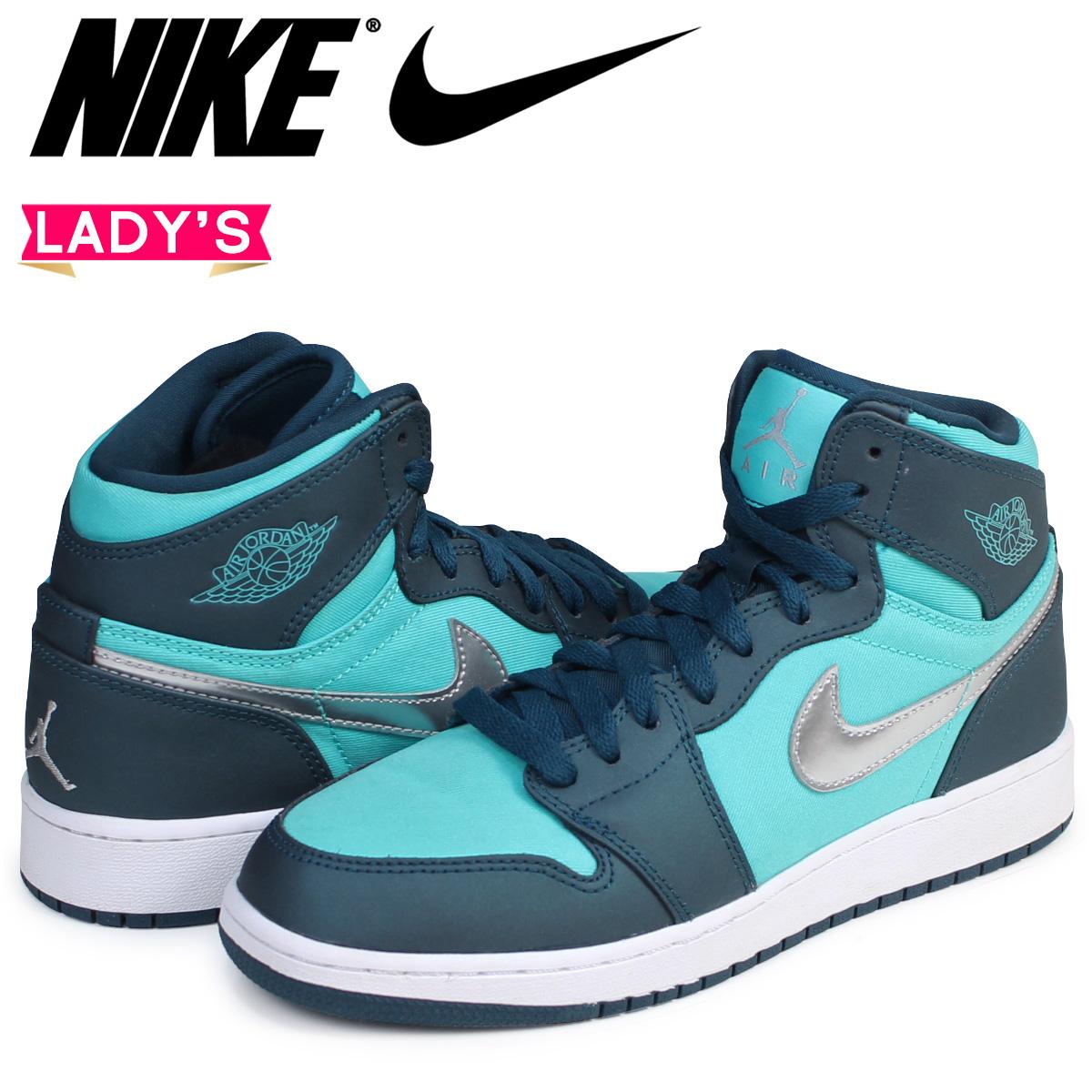 4a18ab8f2988 Sugar Online Shop  Nike NIKE Air Jordan 1 nostalgic lady s sneakers AIR  JORDAN 1 RETRO HIGH GS 332
