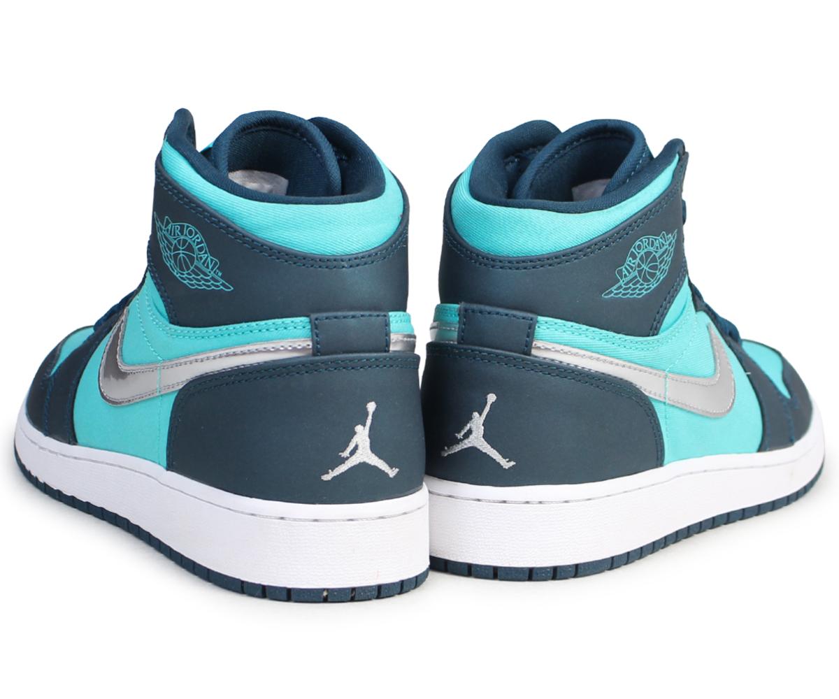 fe375002a4a5 Nike NIKE Air Jordan 1 nostalgic lady s sneakers AIR JORDAN 1 RETRO HIGH GS  332