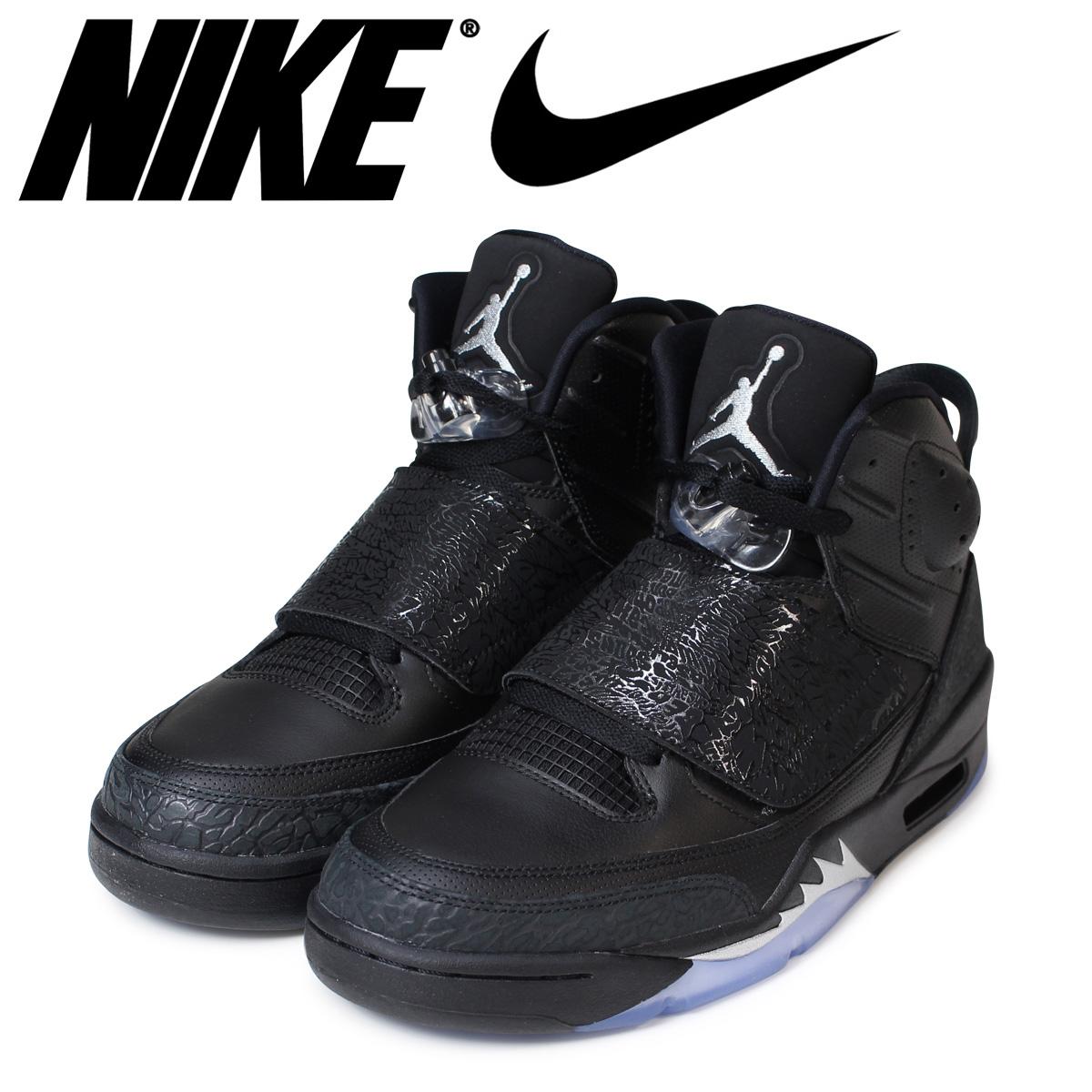 NIKE ナイキ エアジョーダン メンズ スニーカー THE JORDAN SON 512245-010 靴 ブラック 【決算セール 返品不可】