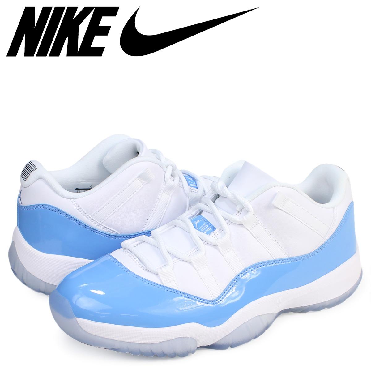 reputable site 46964 5324c NIKE Nike Air Jordan 11 sneakers AIR JORDAN 11 LOW COLUMBIA BLUE low  528,895-106 men's shoes white white