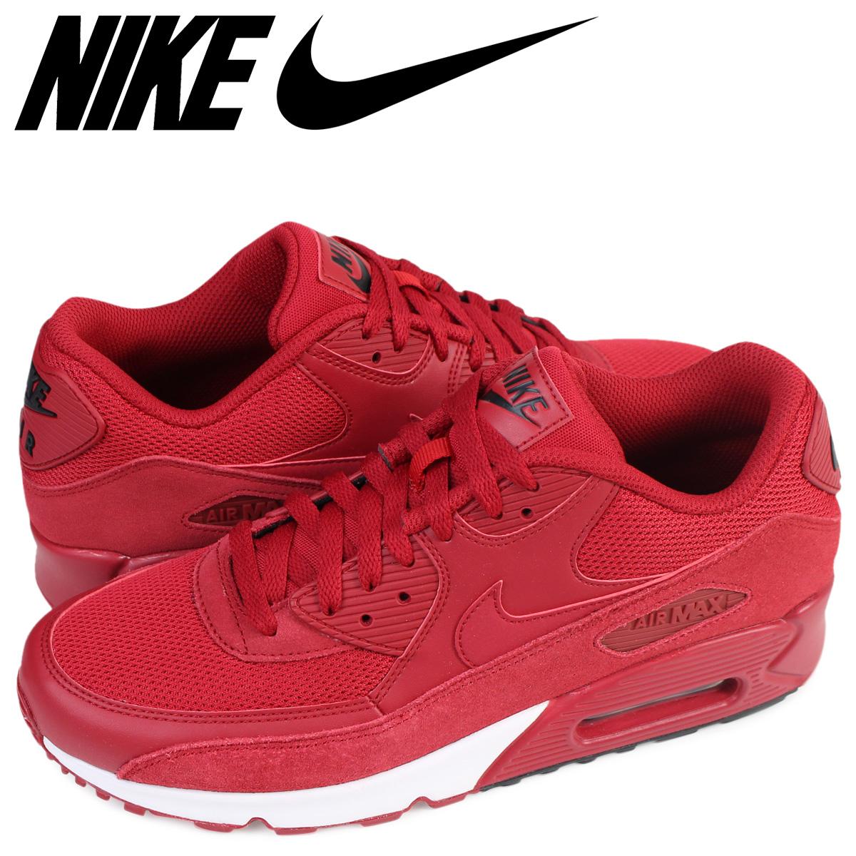 huge discount c7814 44a97 Nike NIKE Air Max men sneakers AIR MAX 90 ESSENTIAL 537,384-604 shoes red   6 21 Shinnyu load