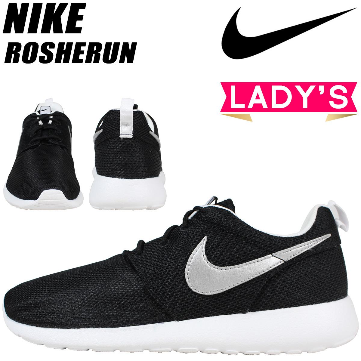 shoes 007 NIKE sneaker ROSHERUN GS black Roslin Nike women's 599728 srthdCQ