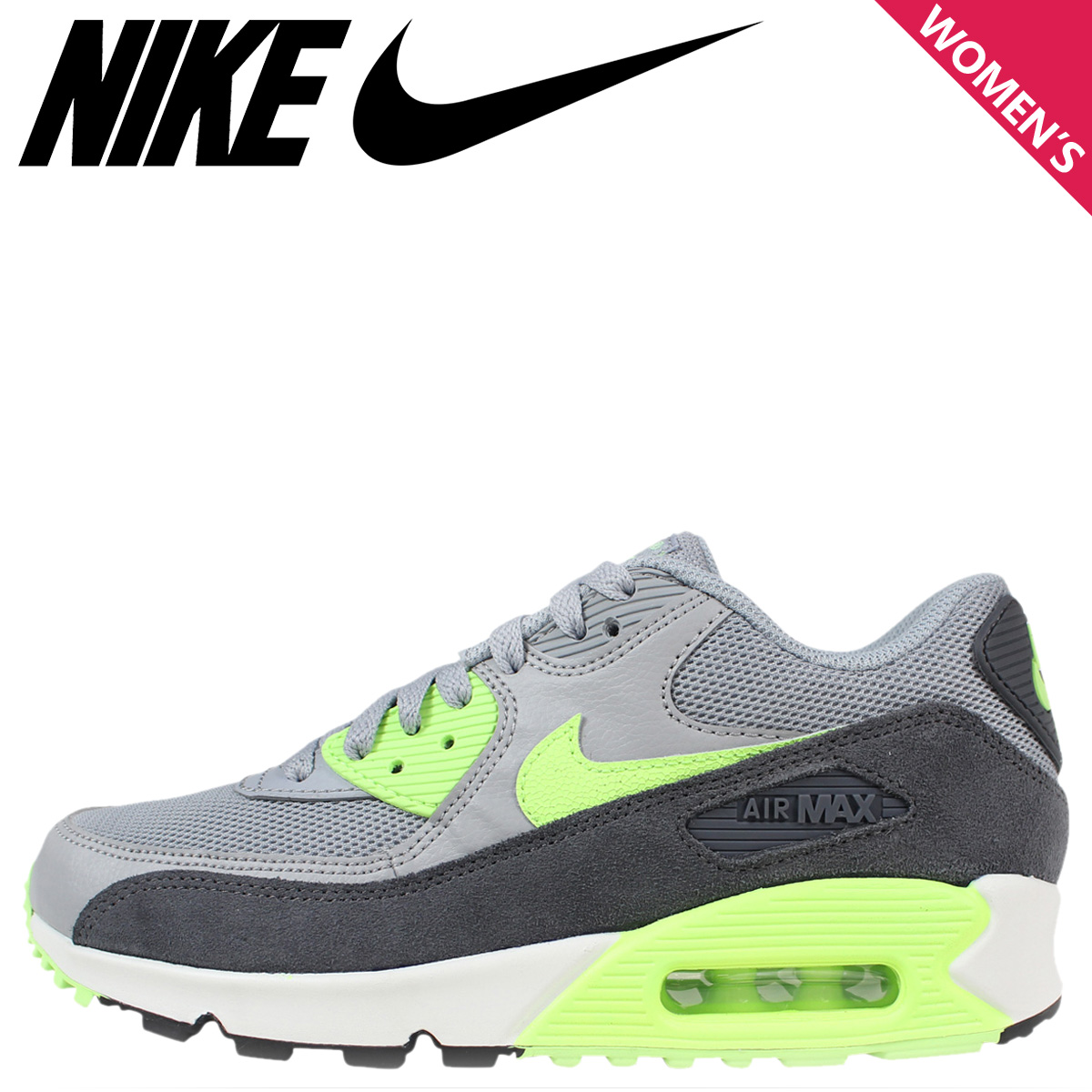 on sale 7208a 496db Nike NIKE Air Max sneakers Womens WMNS AIR MAX 90 ESSENTIAL Air Max 90  essential 616730 ...