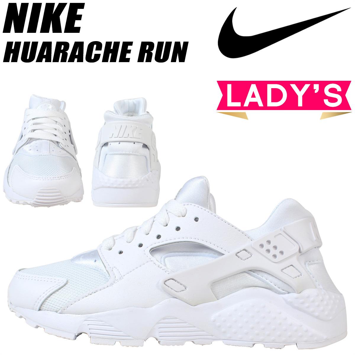 NIKE ナイキ ハラチラン スニーカー レディース HUARACHE RUN GS 654275-110 靴 ホワイト