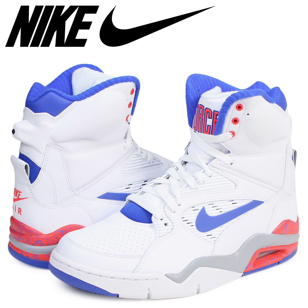 NIKE Nike air command force sneakers AIR COMMAND FORCE 684,715 101 men's shoes ultramarine blue white white