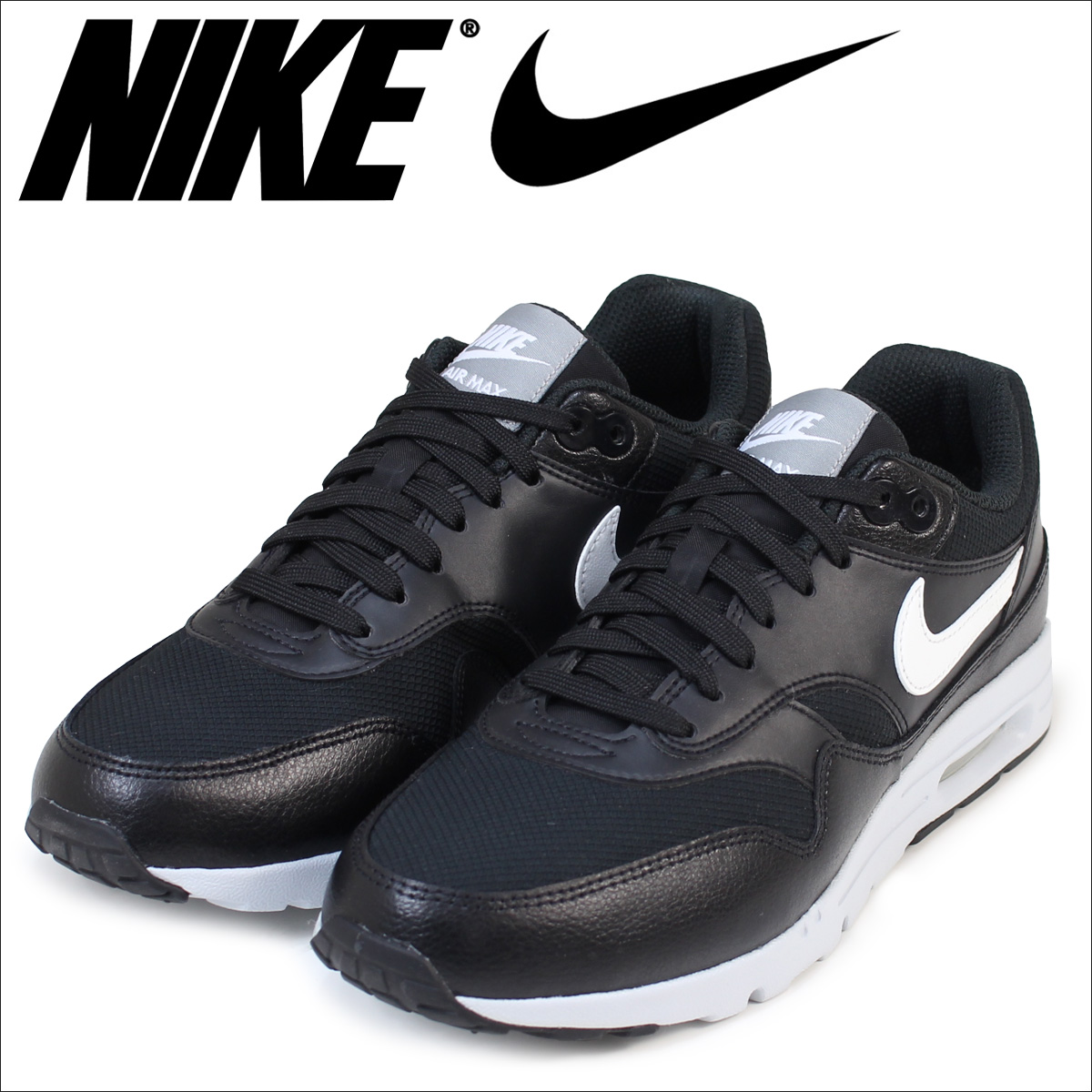 nike air max 1 ultra essentials black and white market