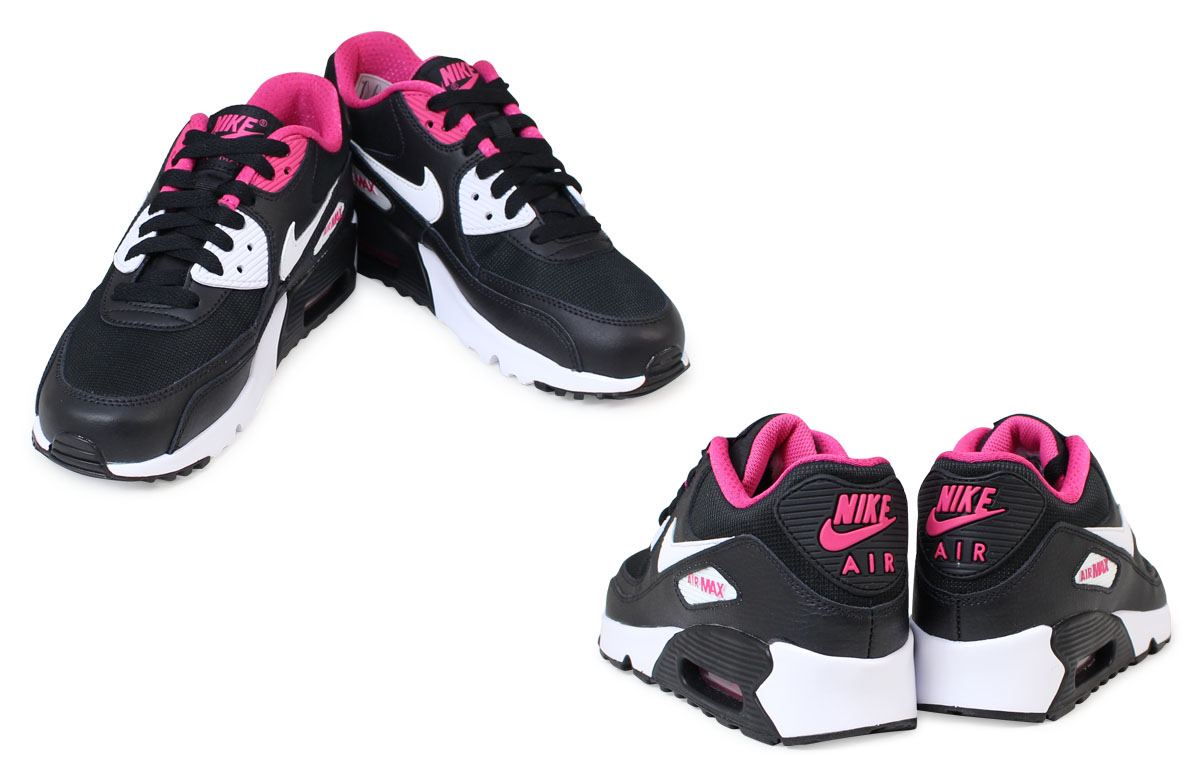 newest 1a5e7 e27a0 Nike Air Max Womens NIKE sneakers AIR MAX 90 MESH GS Air Max 833340-002 shoes  black  book product 11   26 days in stock new stock plan