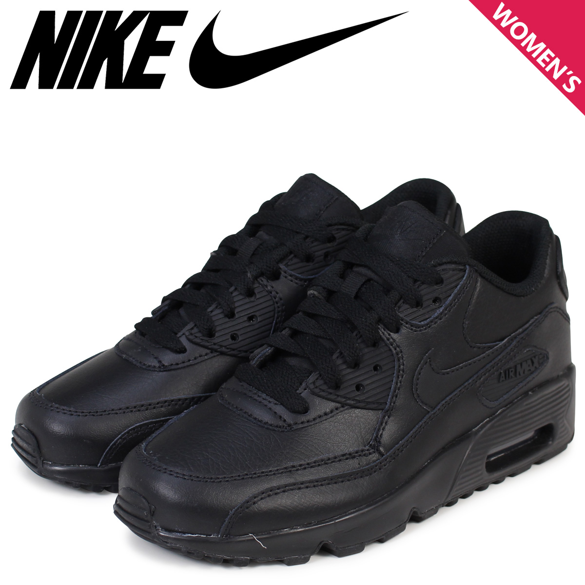 Sugar Online Shop  Nike Air Max Womens NIKE sneakers AIR MAX 90 LTR GS Air  Max 833412-001 shoes black  book product 11   26 days in stock new stock  plan  ... 442d77eb41