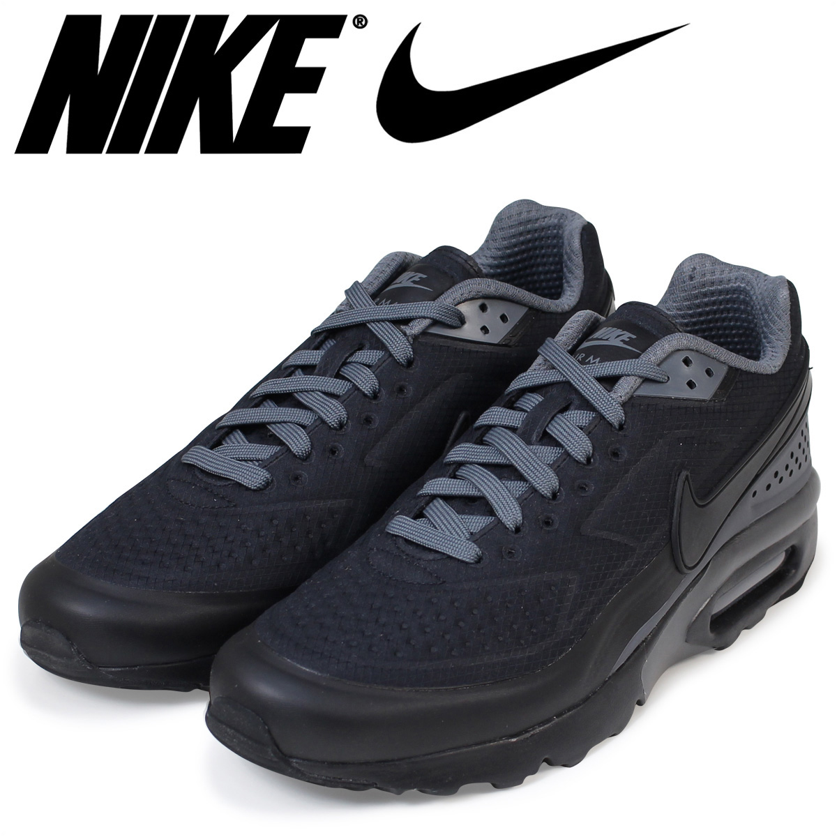 NIKE Kie Ney AMAX men sneakers AIR MAX BW ULTRA SE 844,967 002 shoes black black