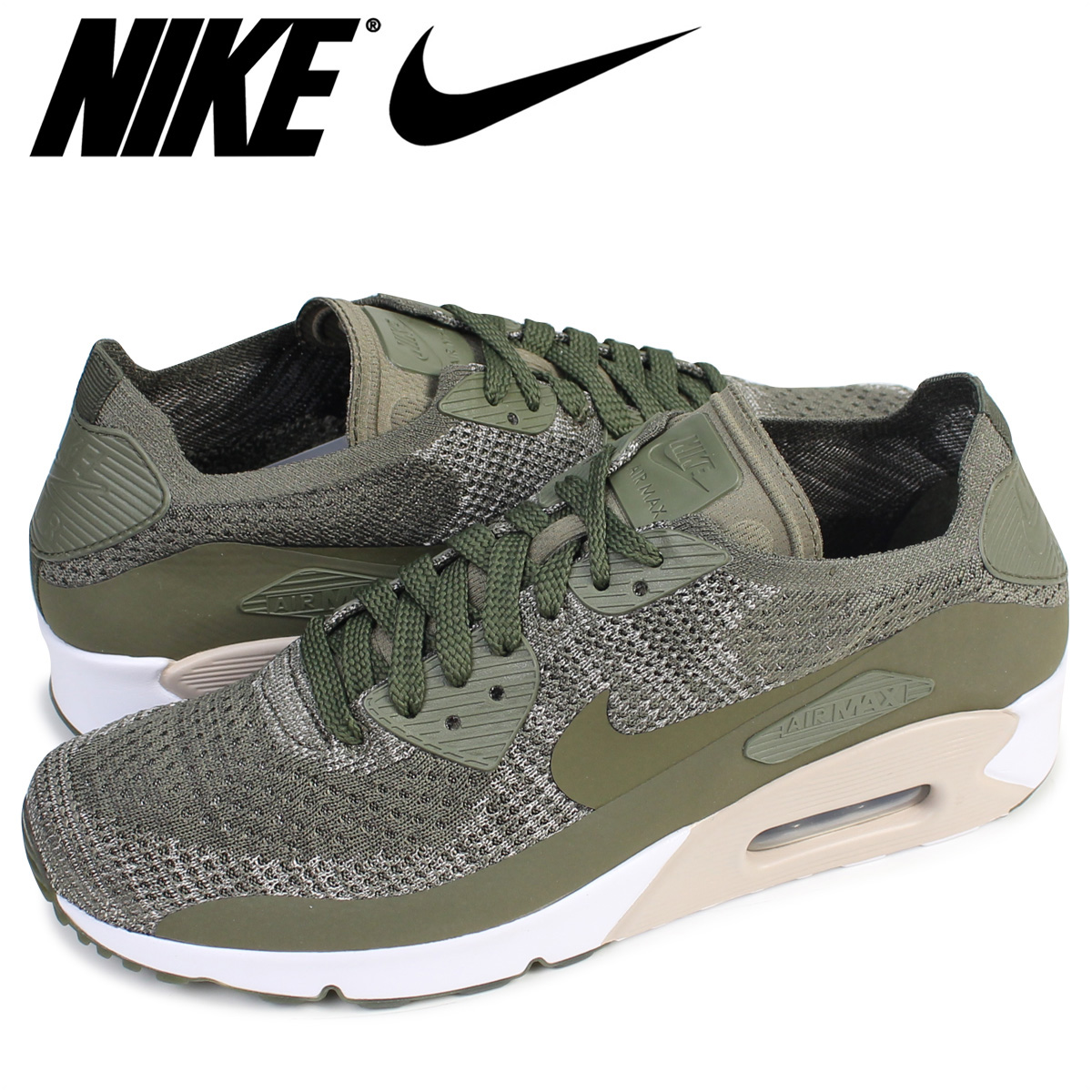 bf3a2fa5f9f91 Nike NIKE Air Max 90 ultra fly knit sneakers AIR MAX 90 ULTRA 2.0 FLYKNIT  875