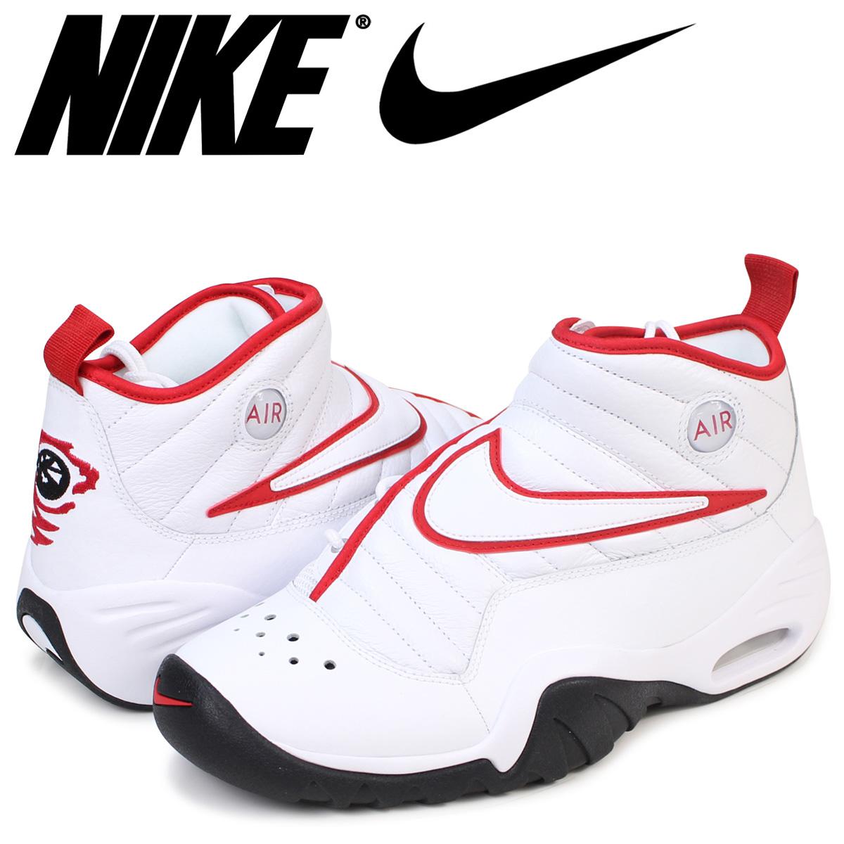 NIKE ナイキ エアシェイク スニーカー AIR SHAKE NDESTRUKT エア シェイク インデストラクト 880869-100 メンズ 靴 ブルズカラー ホワイト 白 [3/9 再入荷]