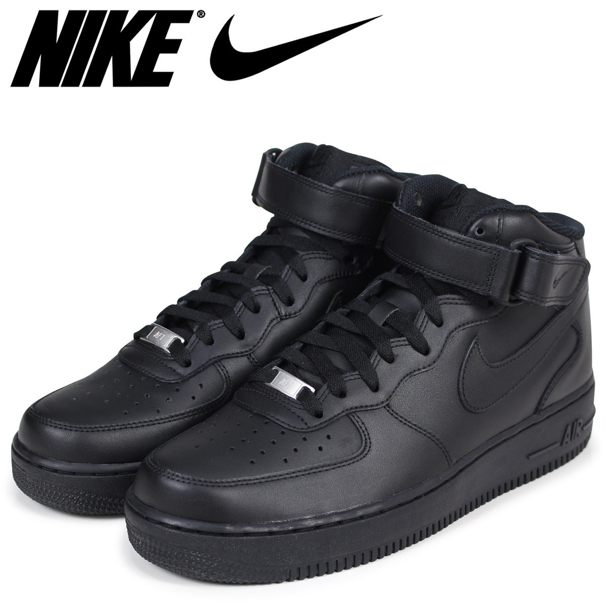 outlet store b90a1 dfad6 NIKE Nike air force 1 MID 07 sneakers men AIR FORCE 1 315,122-001 black   load planned Shinnyu load in reservation product 3 3 containing