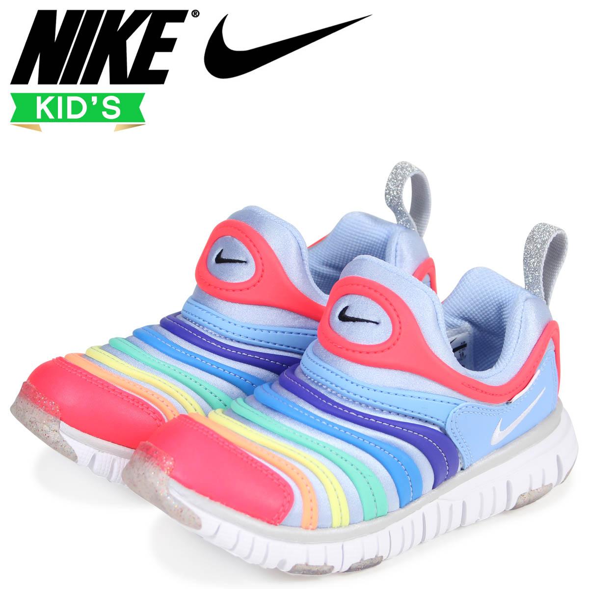 a80f945167 NIKE Nike dynamo-free kids sneakers DYNAMO FREE PS 343,738-425 blue [2 ...