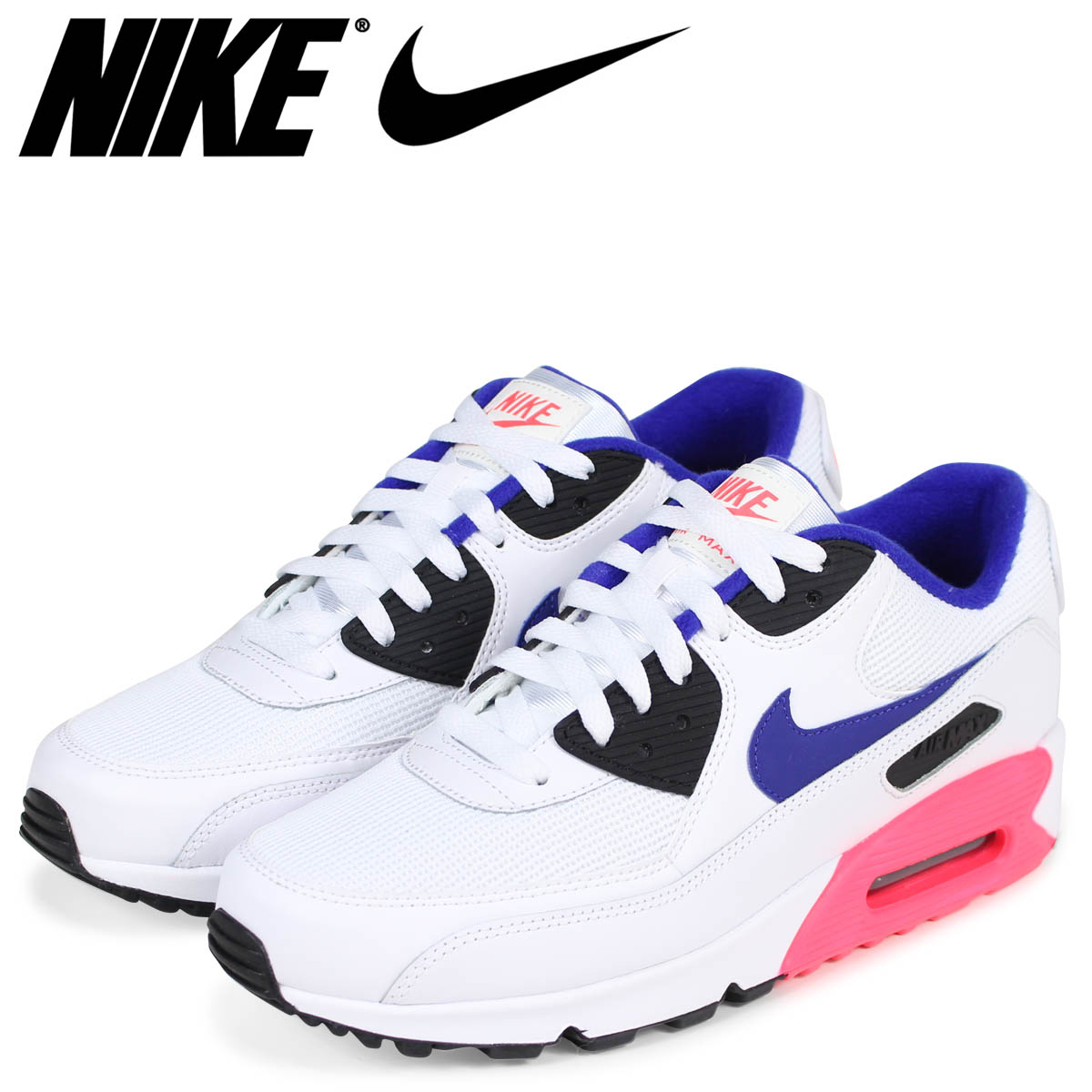 info for 690bb fa8b5 NIKE Kie Ney AMAX 90 essential sneakers men AIR MAX 90 ESSENTIAL 537,384-136  white ...