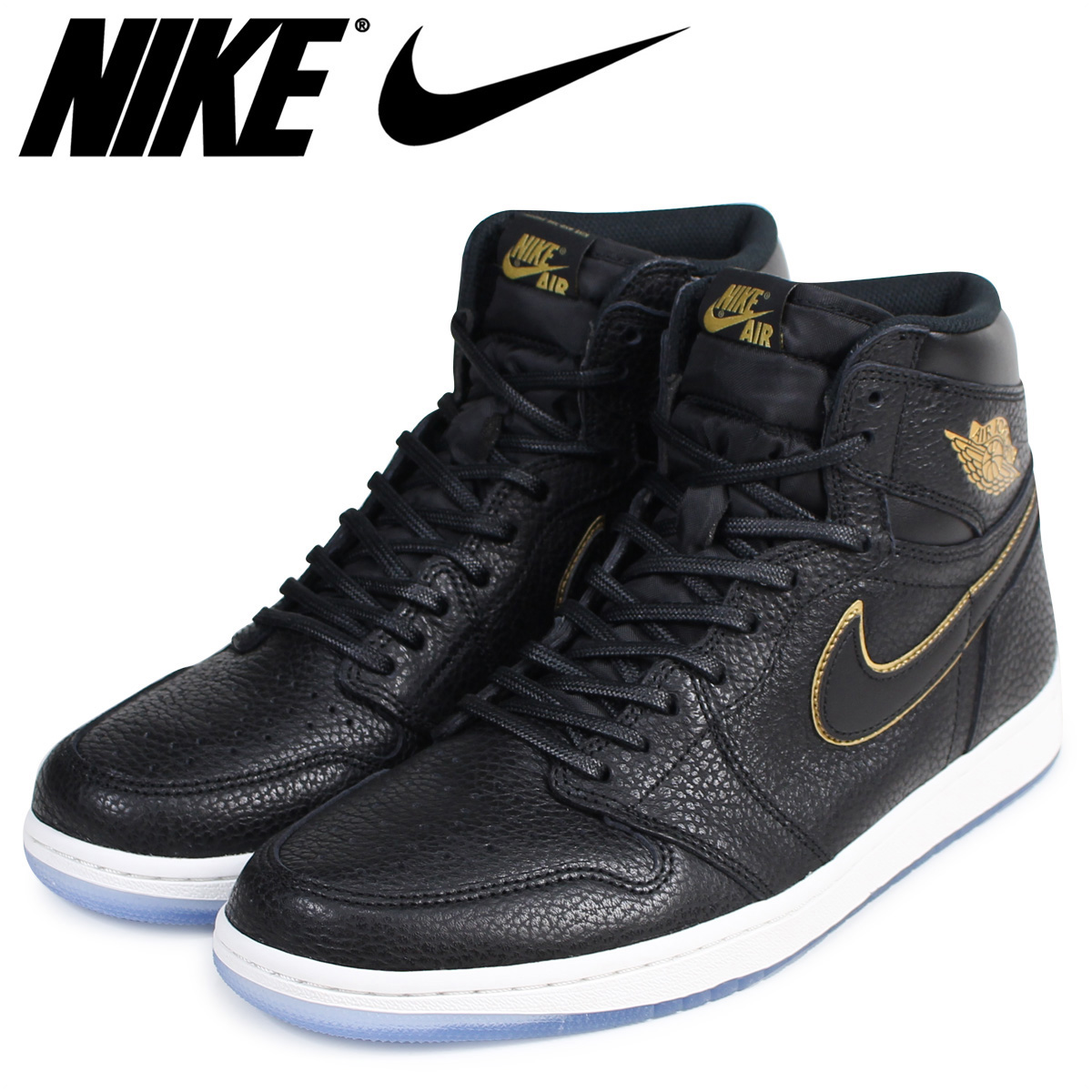 uk availability d981e f80af NIKE Nike Air Jordan 1 nostalgic high sneakers AIR JORDAN 1 RETRO HIGH OG  555,088-031 men s shoes black  load planned Shinnyu load in reservation  product ...