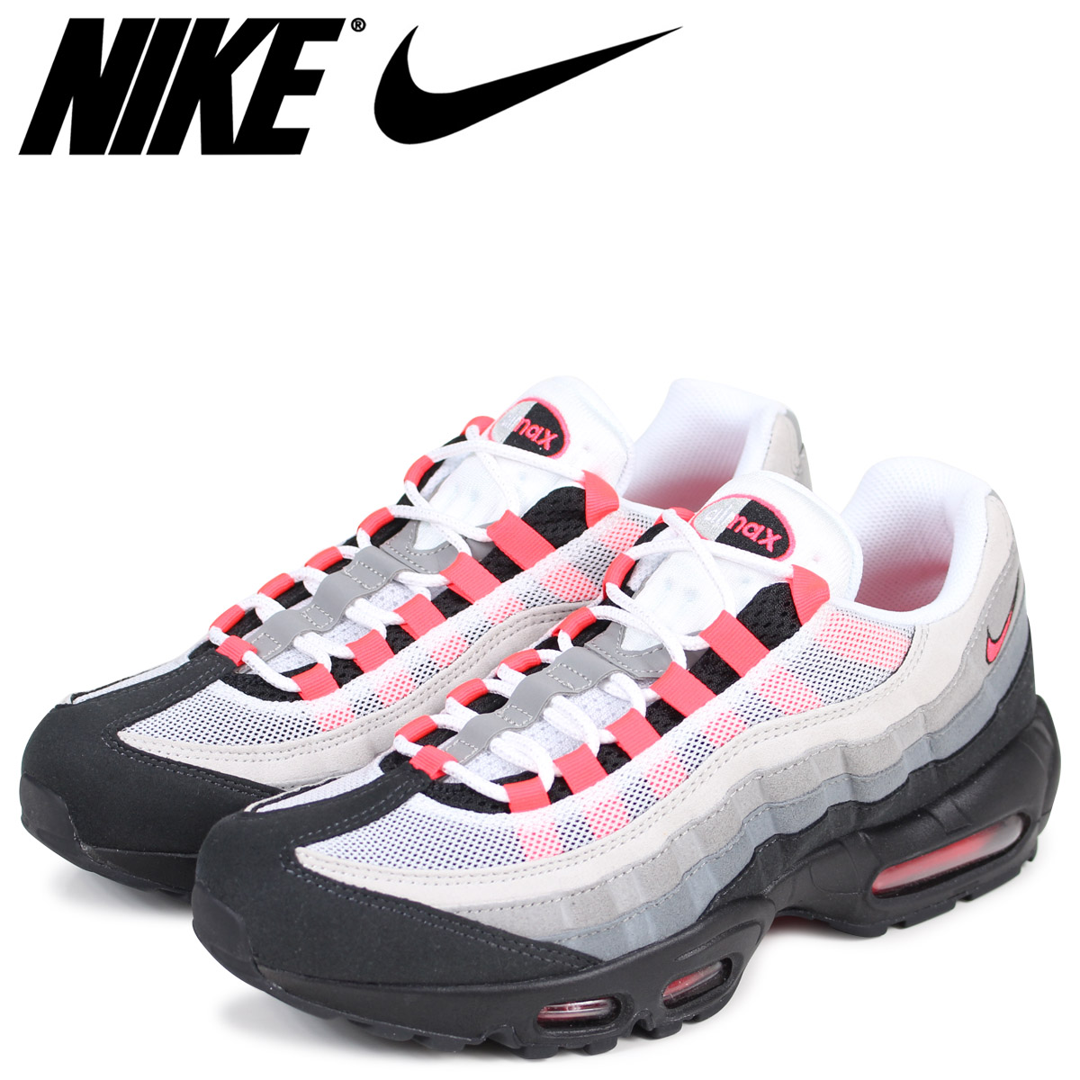 02365bdad8 NIKE Kie Ney AMAX 95 sneakers men AIR MAX 95 OG 609,048-106 solar red ...