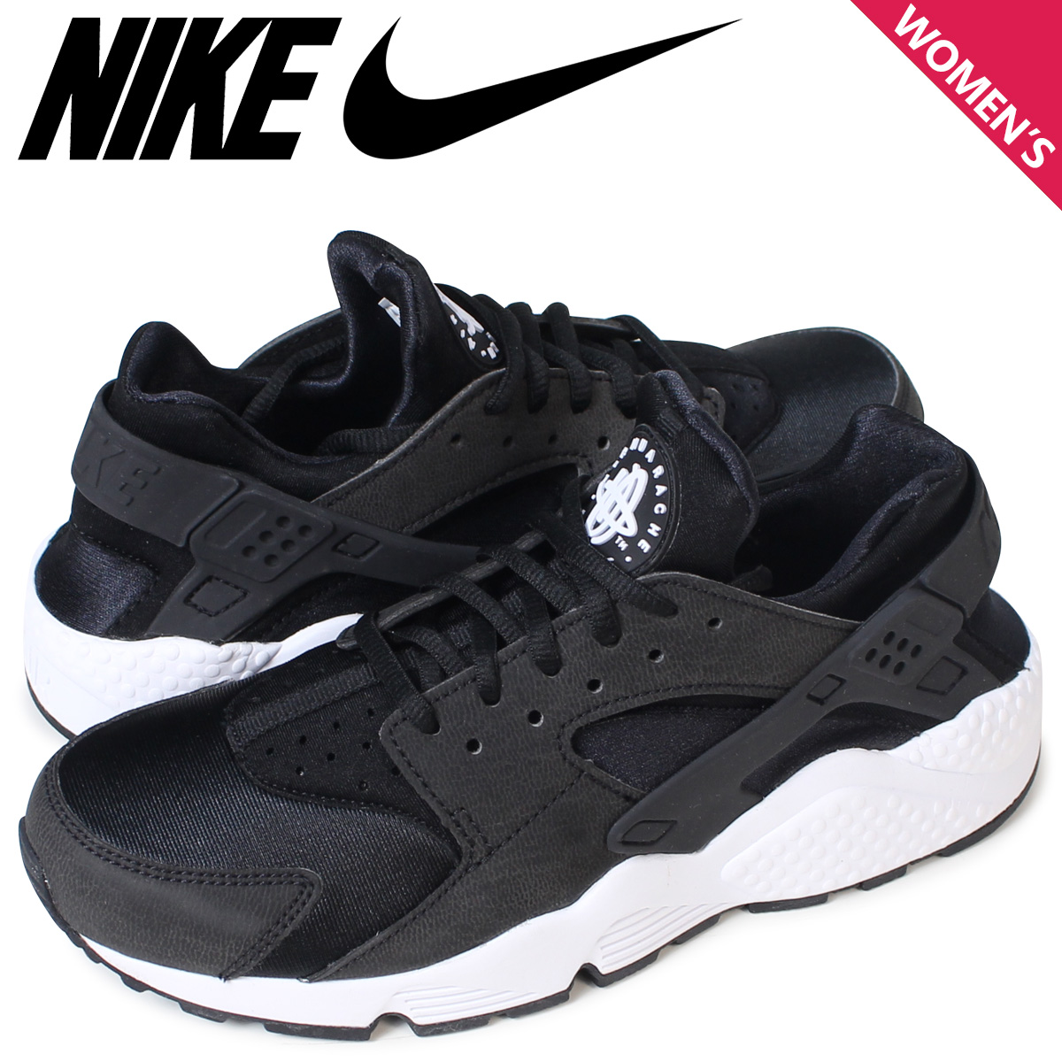 Sugar Online Shop |  Global WMNS Market: Nike NIKE エアハラチレディーススニーカー WMNS Global AIR HUARACHE RUN 634,835-006 shoes black [load planned Shinnyu load in reservation product 9/16 containing] f432c2
