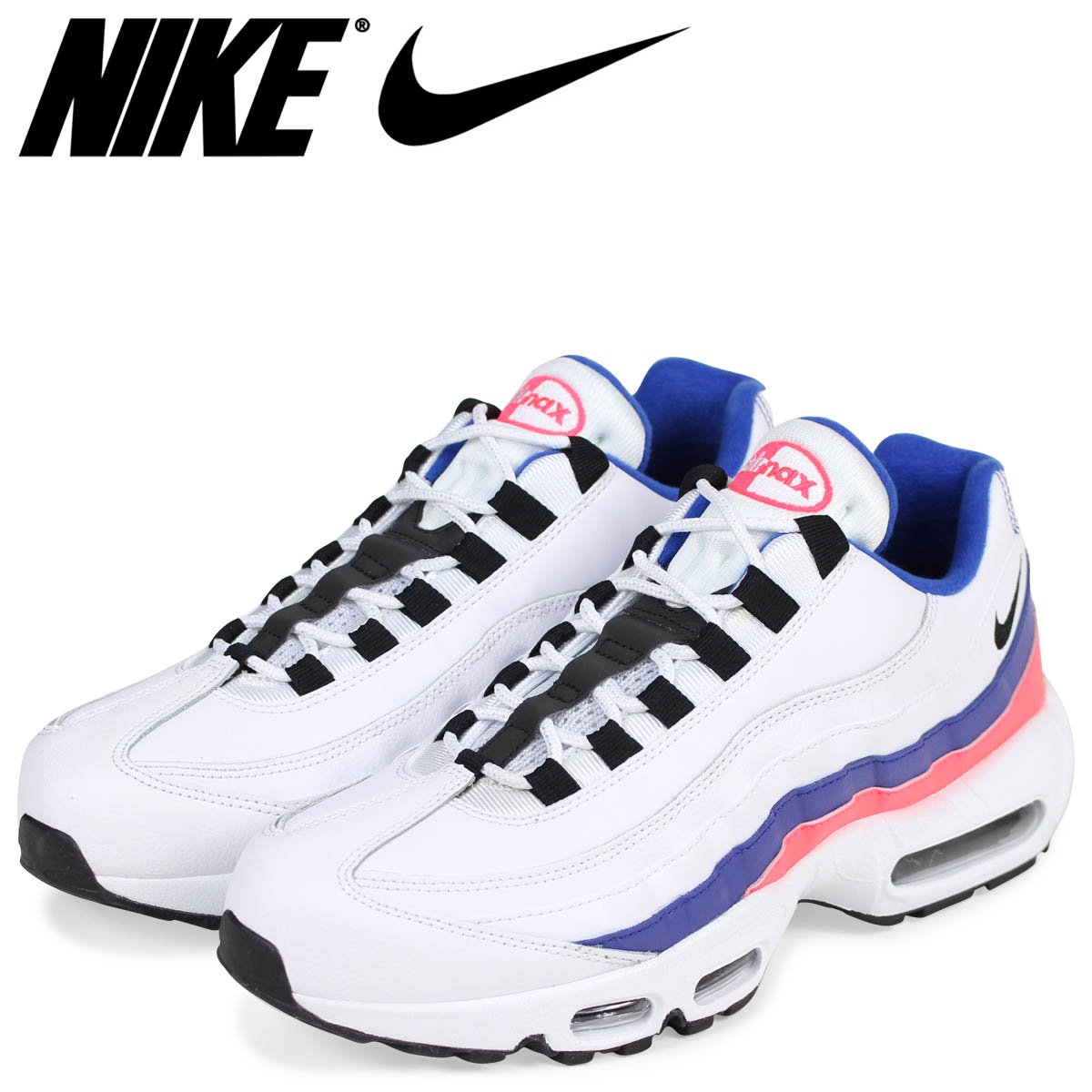9e1754e035 Sugar Online Shop: NIKE Kie Ney AMAX 95 essential sneakers men AIR MAX 95  ESSENTIAL 749,766-106 white [load planned Shinnyu load in reservation  product 2/9 ...