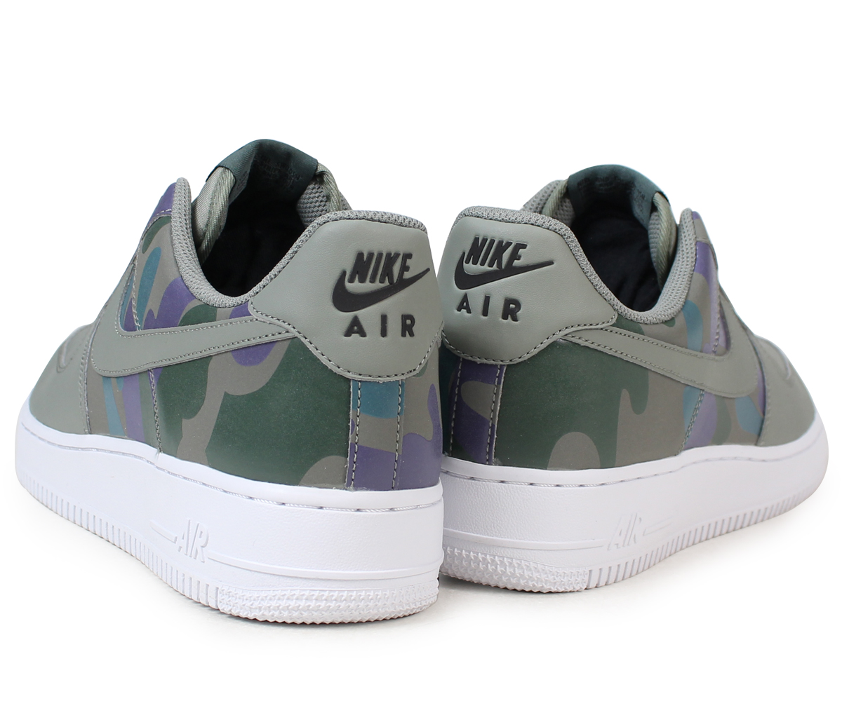 NIKE Nike air force 1 men's sneakers AIR FORCE 1 07 LV8 CAMO PACK 823,511 008 shoes green