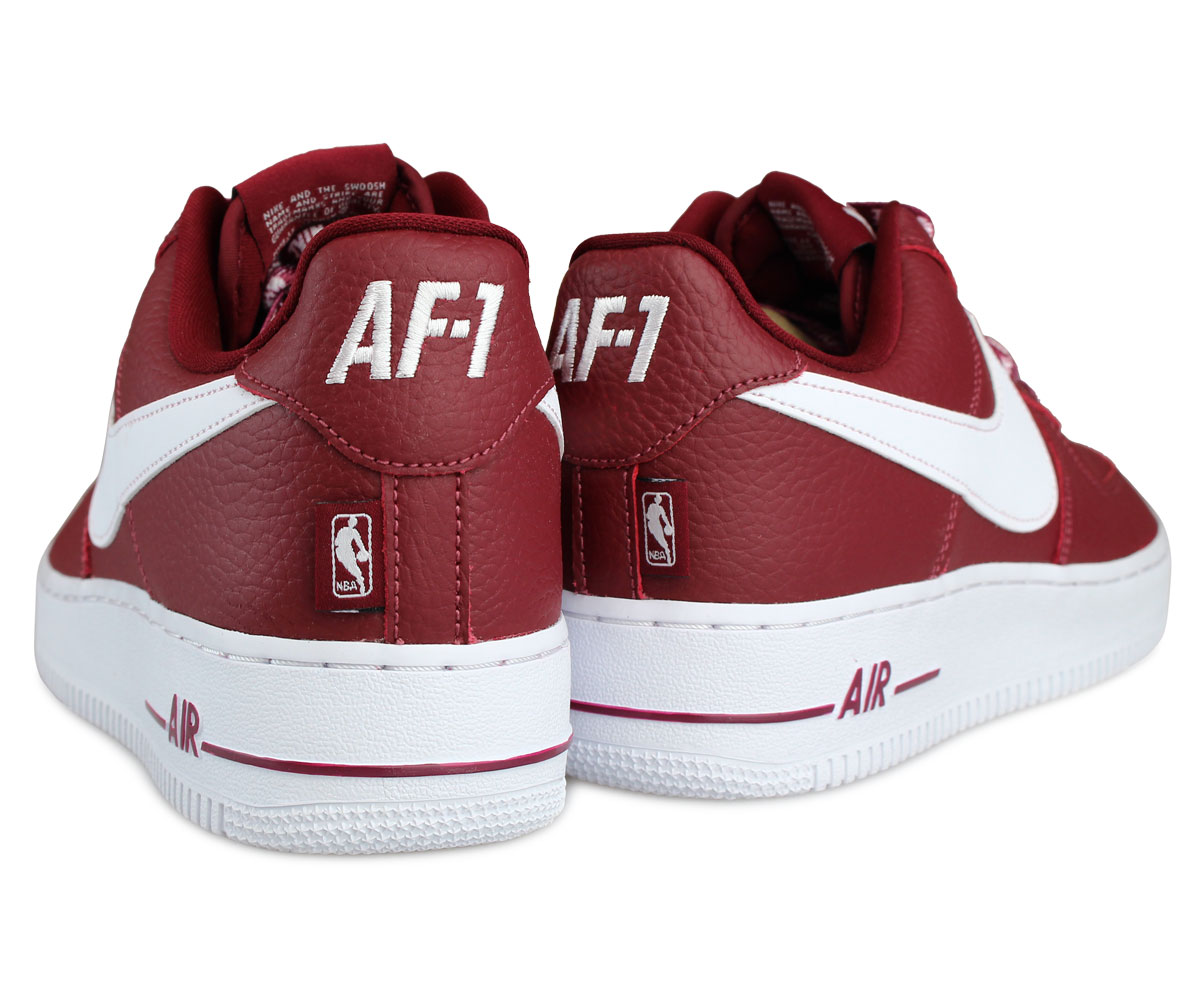 NIKE Nike air force 1 07 LV8 sneakers AIR FORCE 1 NBA 823,511 605 men's shoes red red