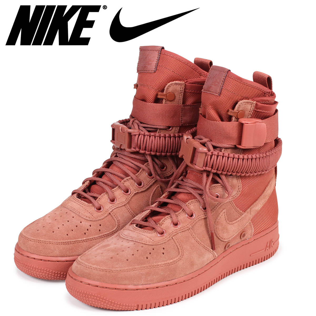 【10%OFF】 NIKE ナイキ エアフォース1 スニーカー スペシャル フィールド SPECIAL FIELD AIR FORCE 1 864024-204 SF AF1 メンズ ピンク