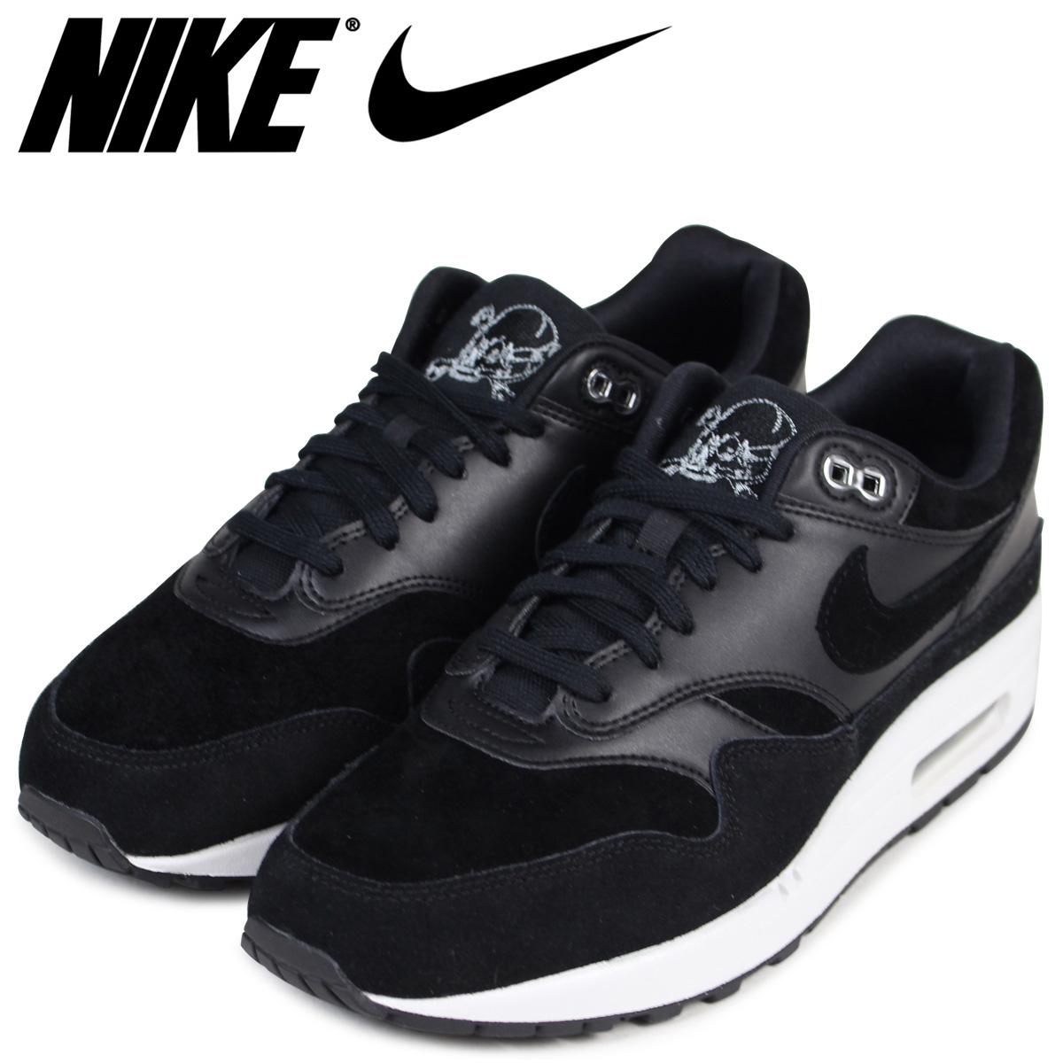 7e3fde9e44059 Sugar Online Shop: NIKE Kie Ney AMAX 1 premium sneakers AIR MAX 1 PRMEIUM  875,844-001 men's shoes black black | Rakuten Global Market