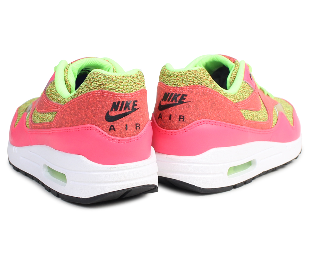 sale retailer bfb0a 4f3e2 Nike NIKE Air Max 1 Lady s sneakers WMNS AIR MAX 1 SE GHOST GREEN 881,101-300  ghost green men shoes pink  8 9 Shinnyu load