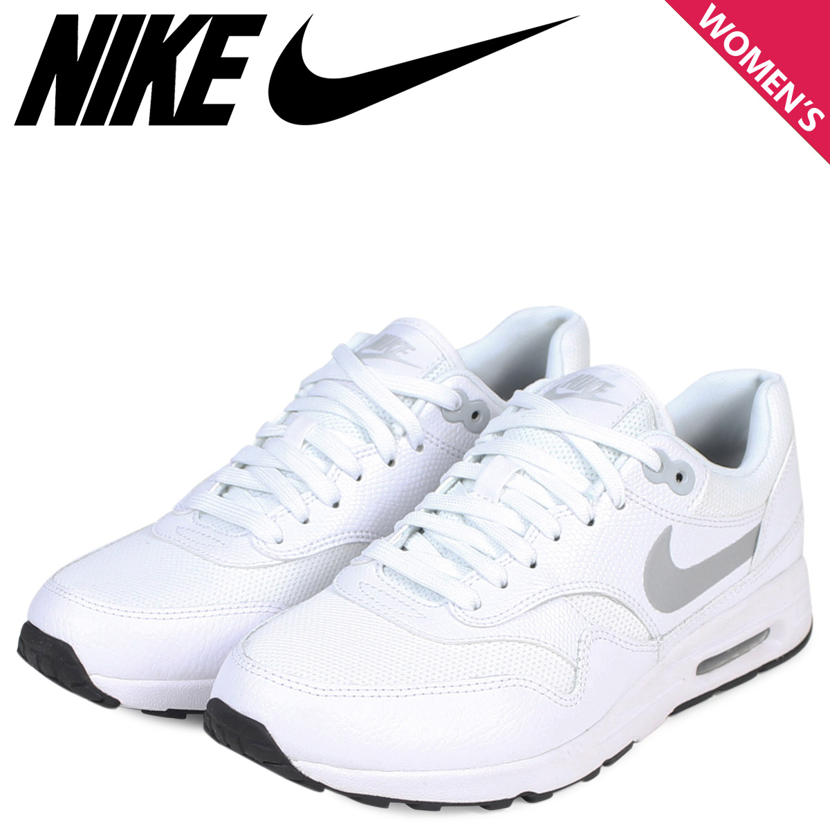NIKE Kie Ney AMAX 1 ultra 2.0 Lady's sneakers WMNS AIR MAX 1 ULTRA 881,104 100 shoes white white