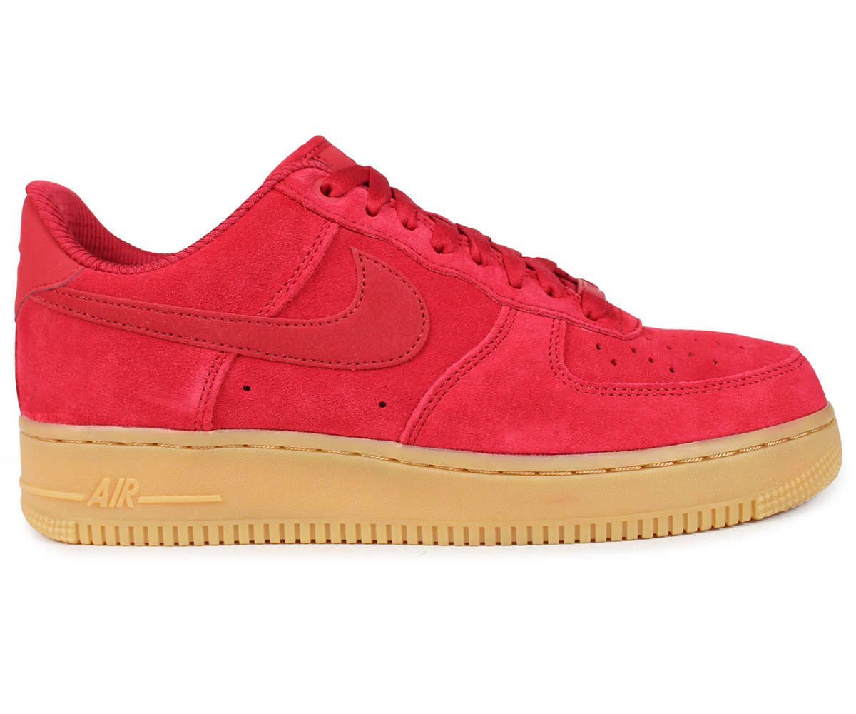 new product d4671 4ac8c NIKE Nike air force 1 07 lady s men s sneakers WMNS AIR FORCE 1 SE 896,184-601  red  load planned Shinnyu load in reservation product 1 20 containing