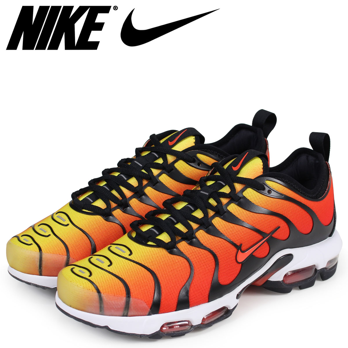 the latest a30ce 4ce90 NIKE Kie Ney AMAX plus sneakers men AIR MAX PLUS TN ULTRA 898,015-004 orange