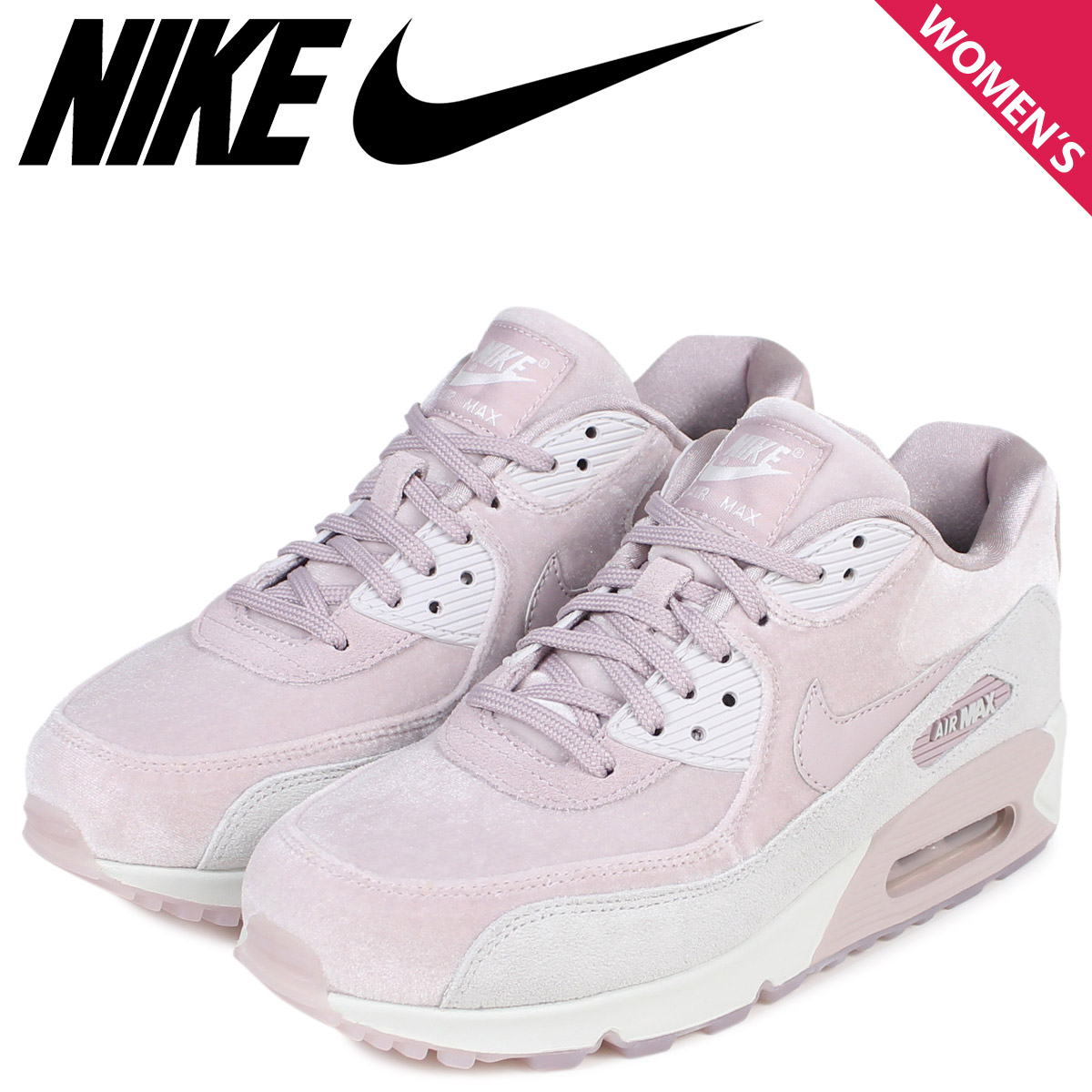 low priced d9fb1 d8218 NIKE Kie Ney AMAX 90 Lady's sneakers WMNS AIR MAX 90 LX 898,512-600 shoes  pink