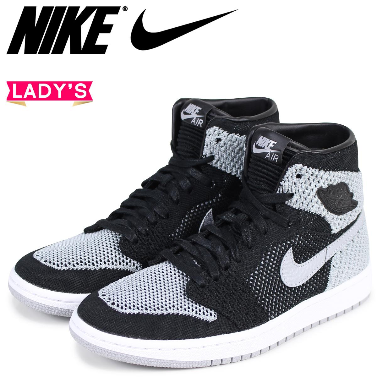 bd37406372731f NIKE Nike Air Jordan 1 nostalgic fried food knit Lady s sneakers AIR JORDAN  1 RETRO HI FLYNIT BG 919