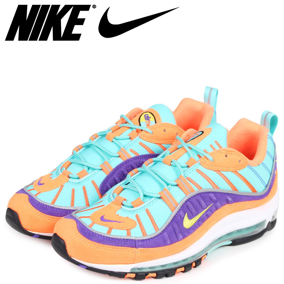 NIKE Kie Ney AMAX 98 sneakers men AIR MAX 98 QS 924,462 800 orange
